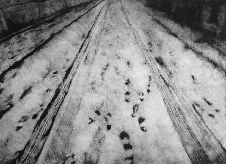 Snowlandscape_monotype